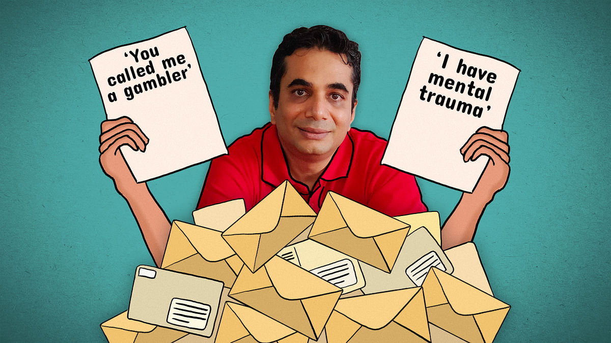 Why did the FAU-G developer get defamation notices from 'avid Rummy players'?