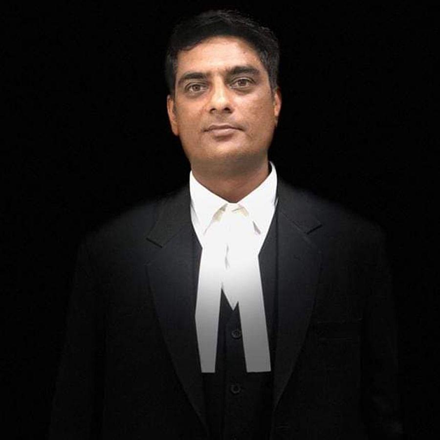 Abdul Gaffar, 40, a criminal lawyer representing Mohammad Arif.