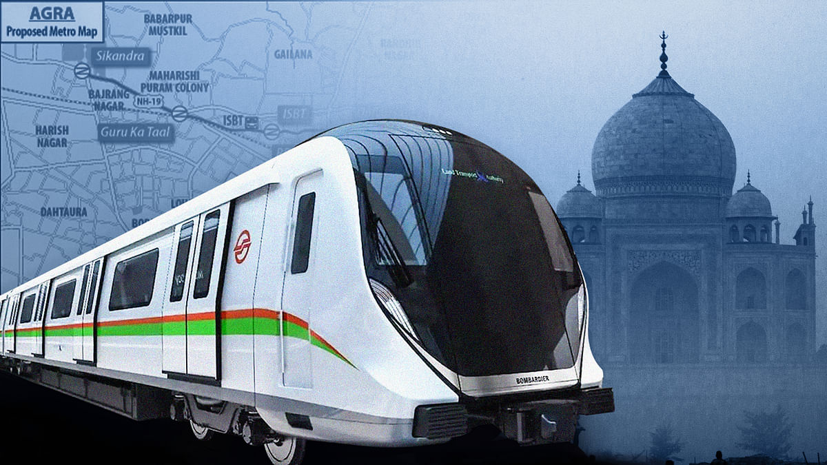 Why Agra's metro rail may wreck its historical heritage and environment