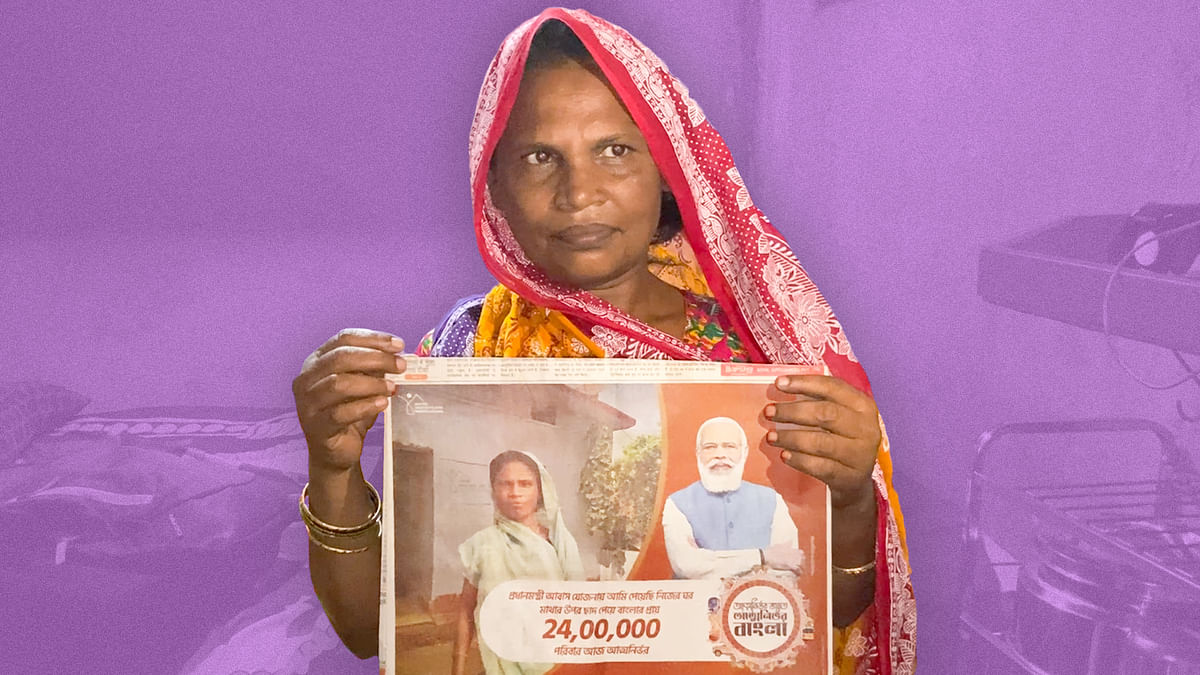 'This is wrong': Meet the woman in Modi's housing ad
