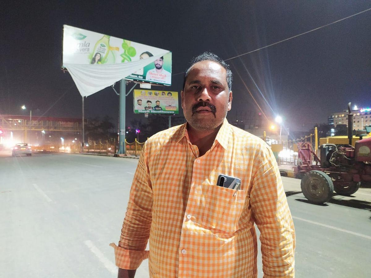 भारतीय किसान यूनियन के मीडिया प्रभारी धर्मेंद्र मलिक
