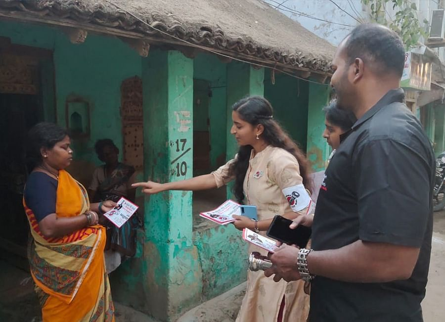 Padma Priya will contest the election for the first time from Chennai's Maduravoyal.