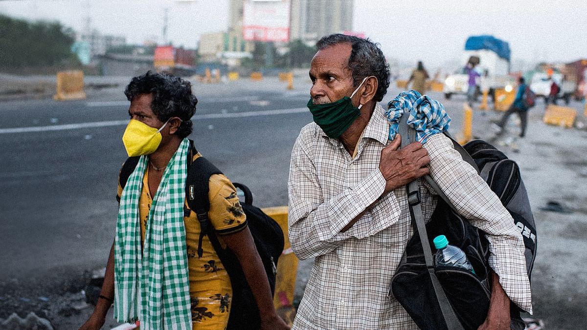 गुजरात में फिर से अपने घरों को लौट रहे हैं प्रवासी मजदूर