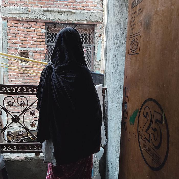 Waseem's mother, Shamim.