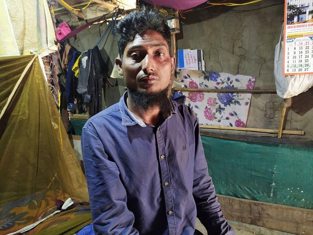 मोहम्मद बशीर, जिनके माता, पिता और दो भाइयों को बुधवार को पुलिस ले गई.