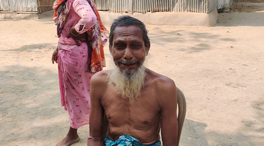 Hamidul Hoque's farther has lost two sons now, one to heart stroke and one to the CISF firing.