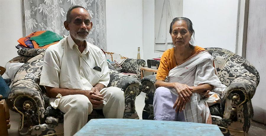 Mahesh Banuary and his wife Nirala Konwar Banuary are from the Bodo community.