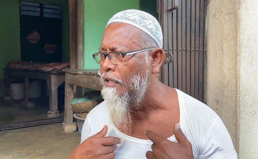 Mohammad Alibuddin, whose son was killed in 2018.