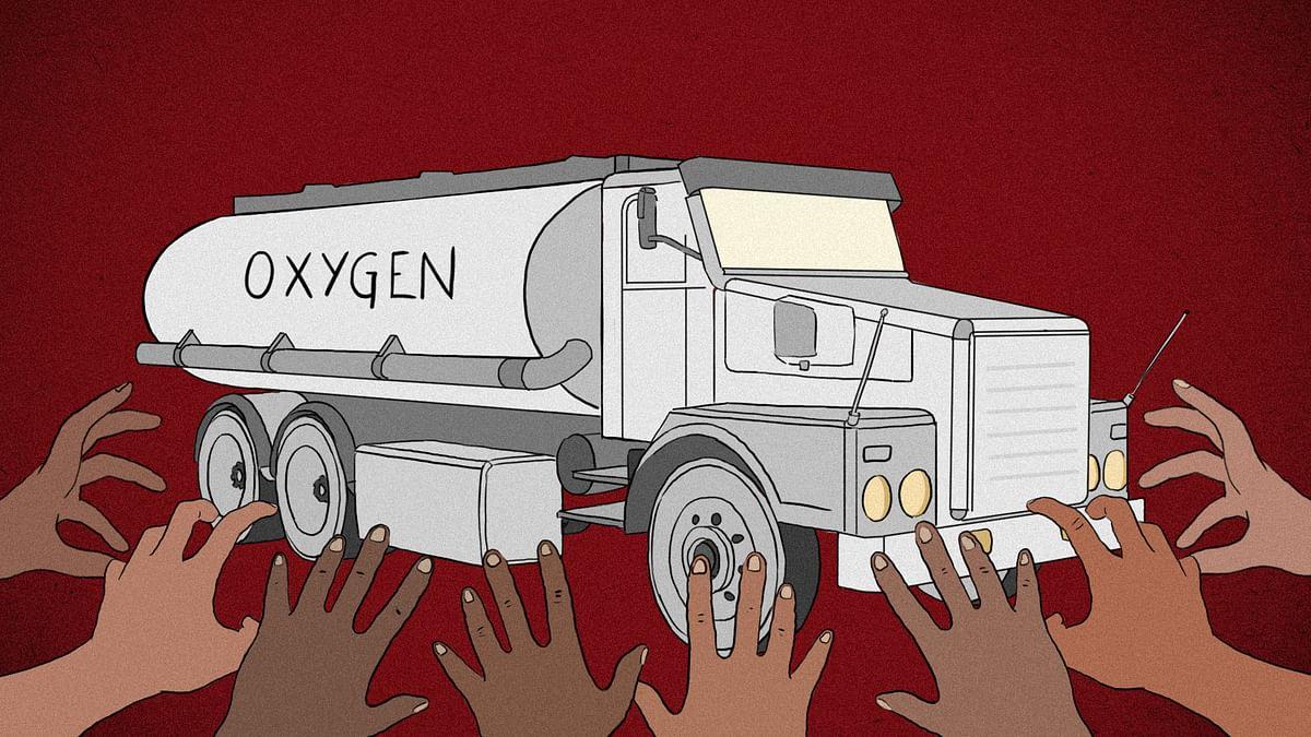 Did Haryana block oxygen supply to Delhi's hospitals?