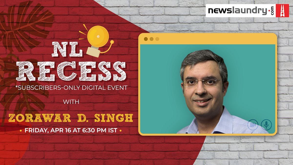 NL Recess: Come hang out with Zorawar Daulet Singh