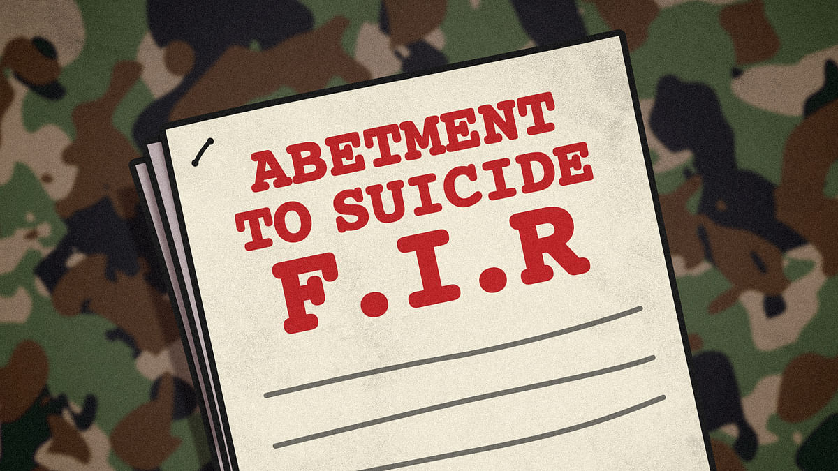 Four army officers named in FIR over brigadier's suicide