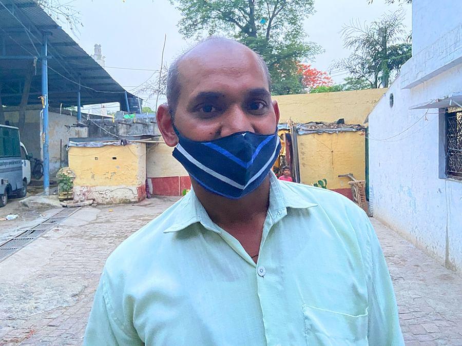 Ganga Motor Committee manager Bijendra Singh.