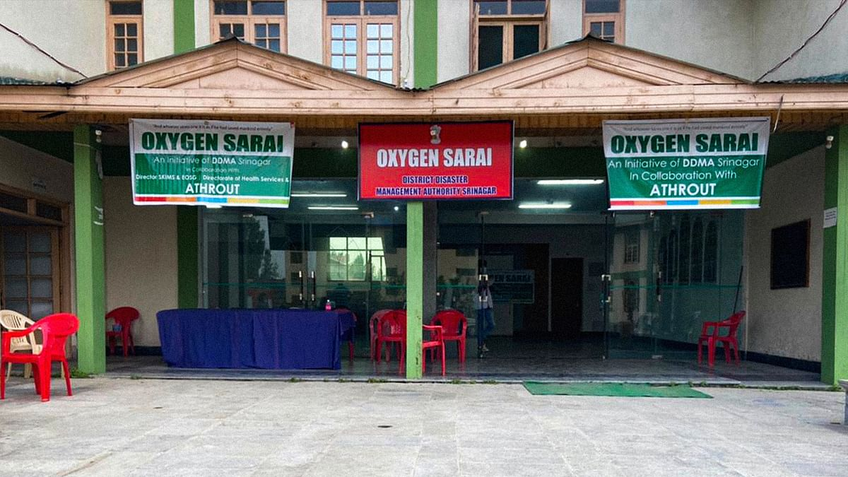 Kashmiri nonprofit sets up oxygen facility, babus steal the credit. Why?