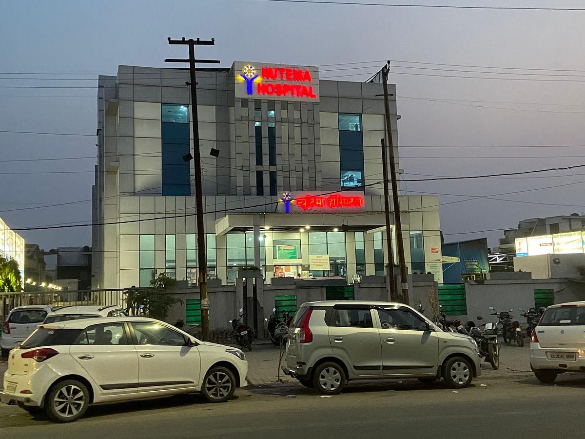 Nutema Hospital in Meerut.