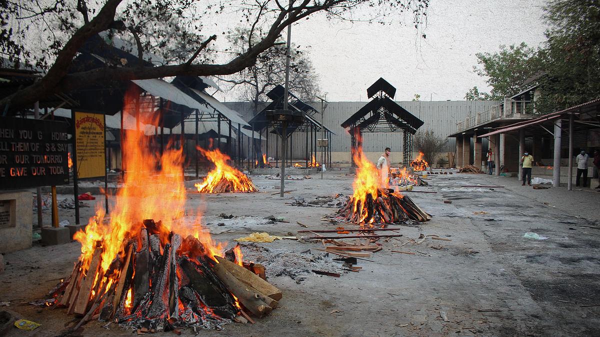 मेरठ: 19-30 अप्रैल, कोविड से मौतें 264, सरकार का दावा 36