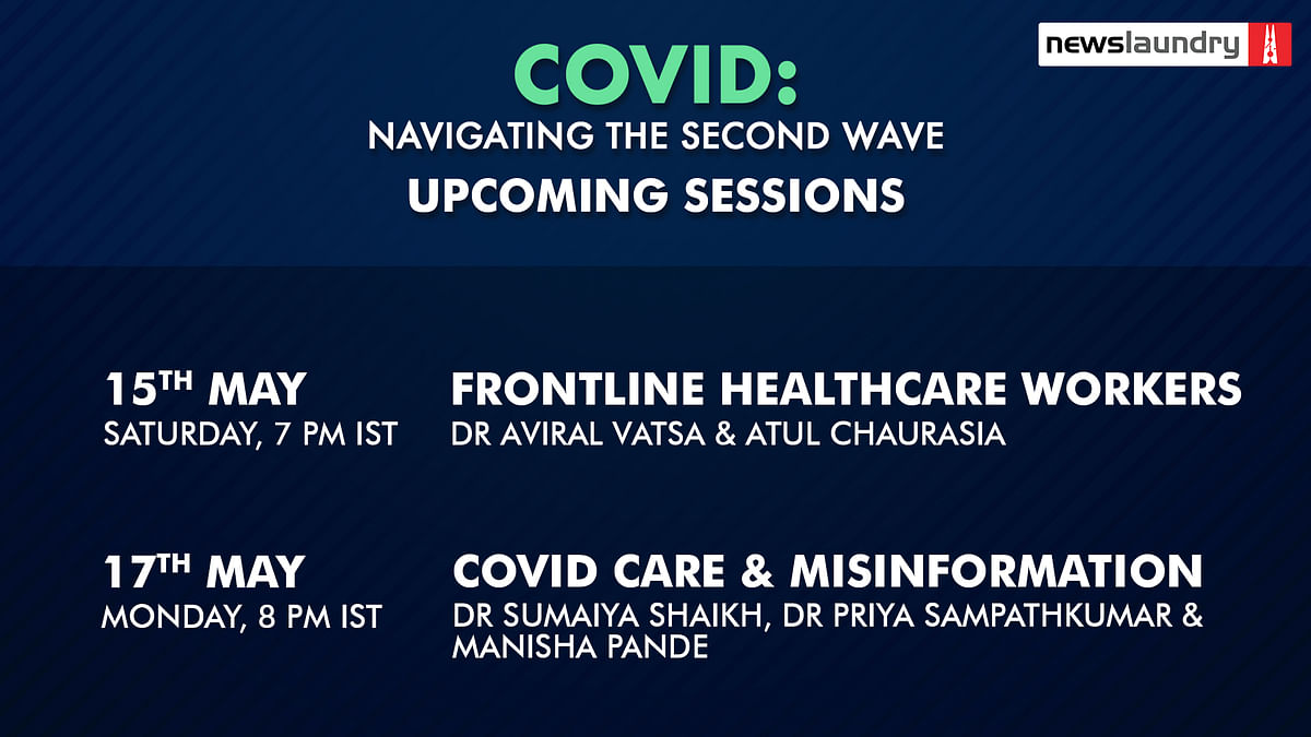 Register for our upcoming webinars on navigating the second Covid wave