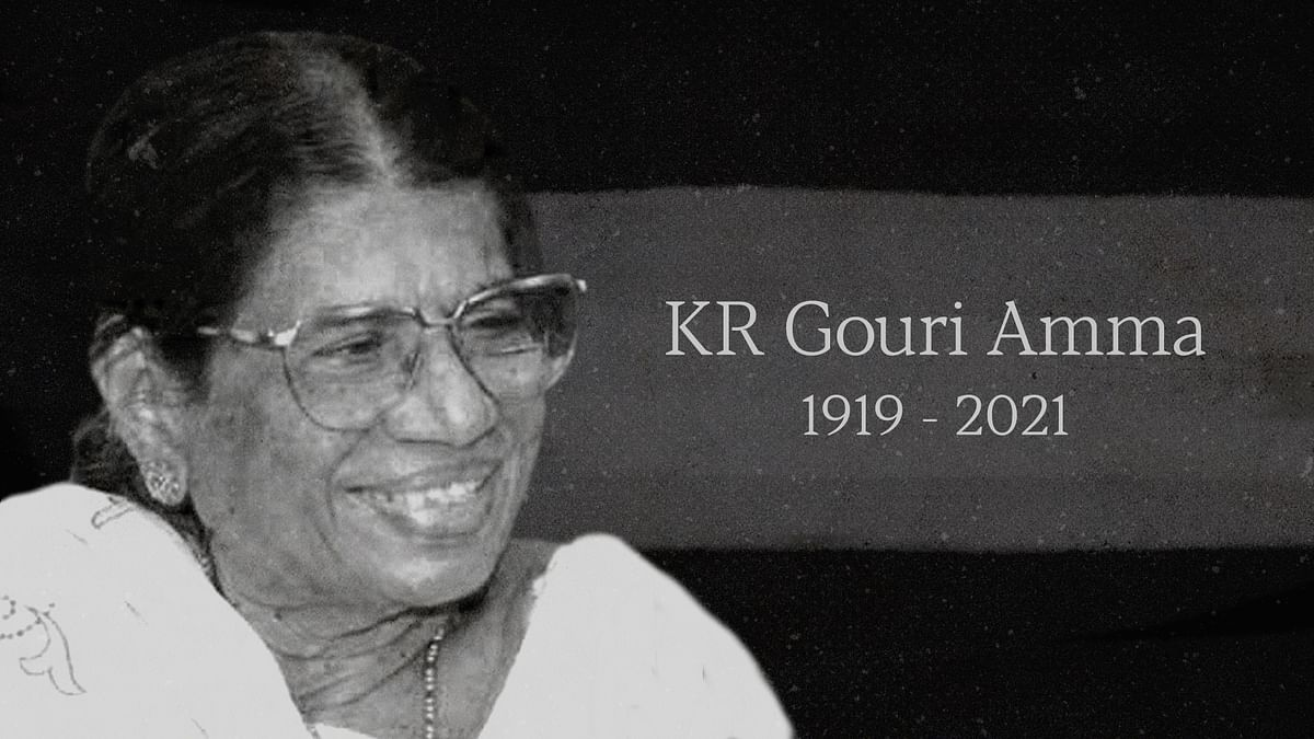 KR Gouri, the chief minister Kerala deserved but never had