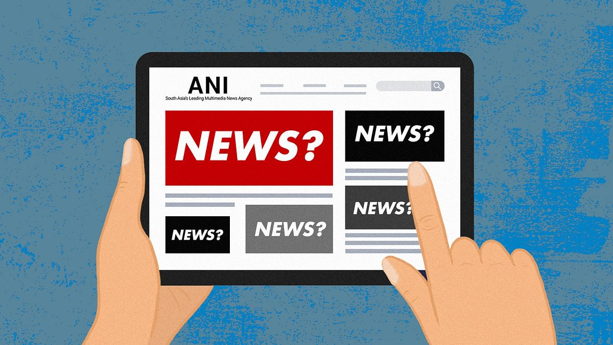How 'press releases' published by ANI make their way to news portals as news