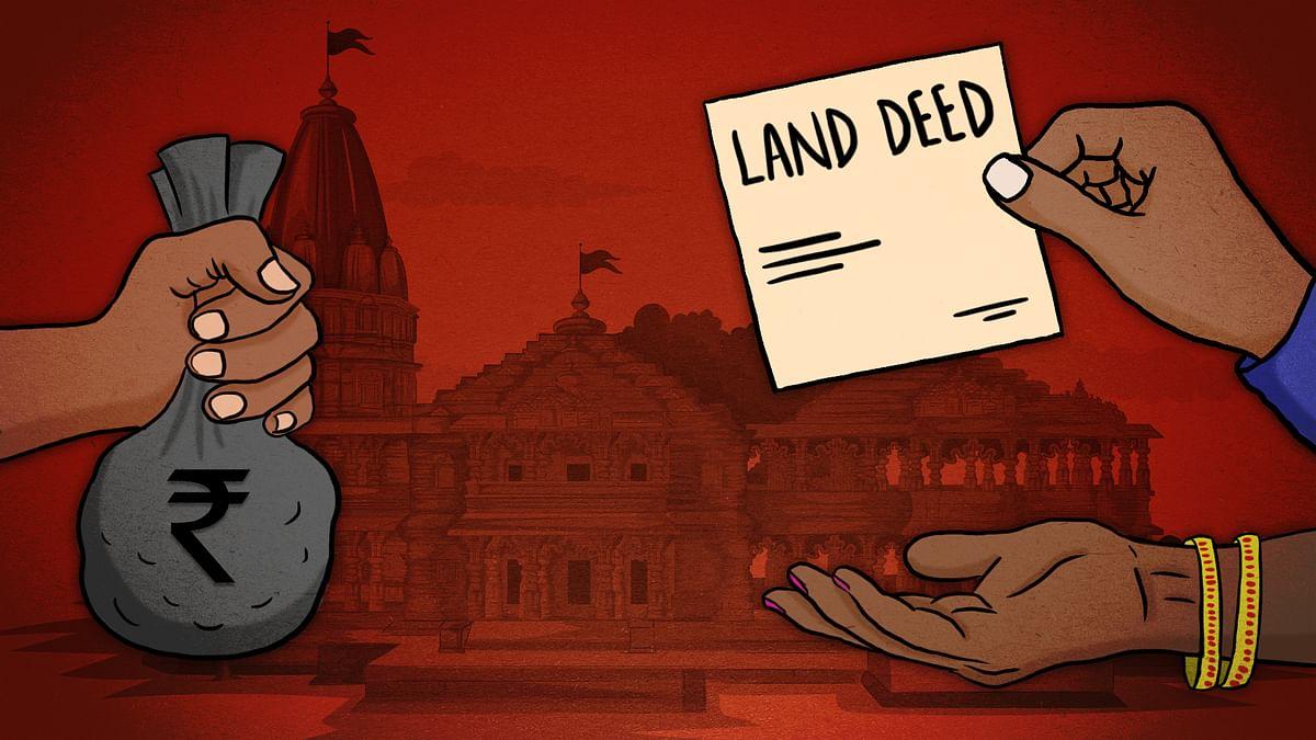 #Exclusive: भगोड़े, धोखाधड़ी के आरोपी हरीश पाठक से राम जन्मभूमि तीर्थ क्षेत्र ट्रस्ट ने खरीदी जमीन