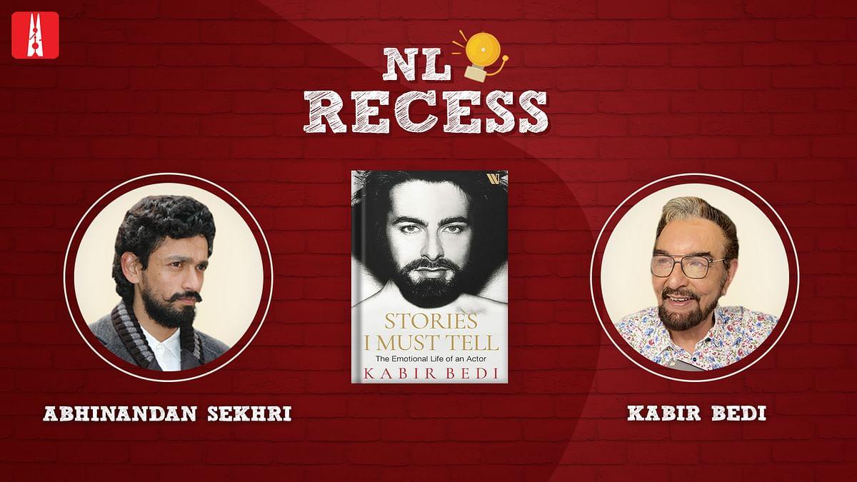 NL Recess: Come hang out with Kabir Bedi