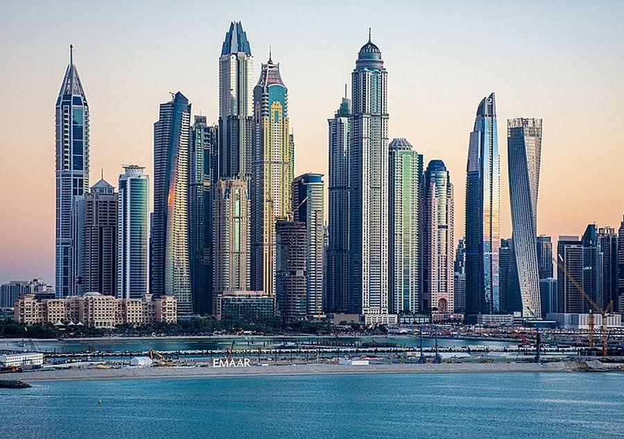 The Sandesaras are accused of using embezzled money to buy a $2 million apartment in Dubai Marina. Credit: Norlando Pobre