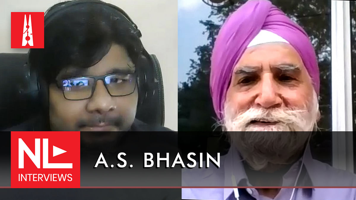 NL Interview: AS Bhasin on his latest book and the trials of researching the 1962 Sino-Indian War