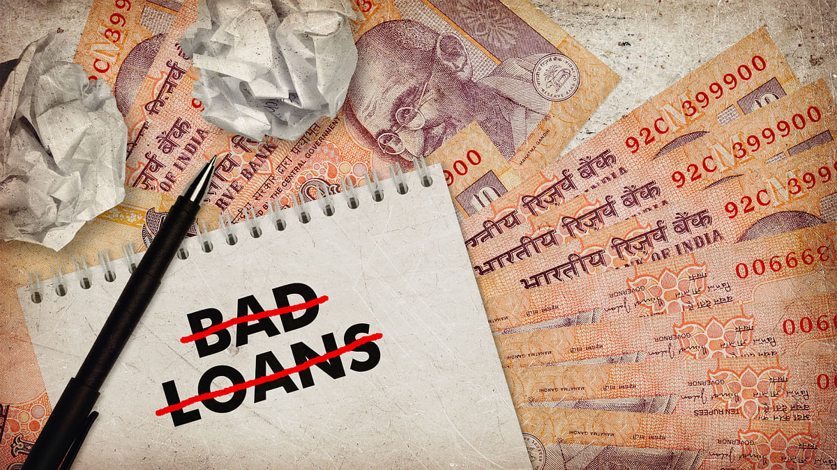Banks have written off bad loans worth Rs 10.8 lakh crore in last eight years