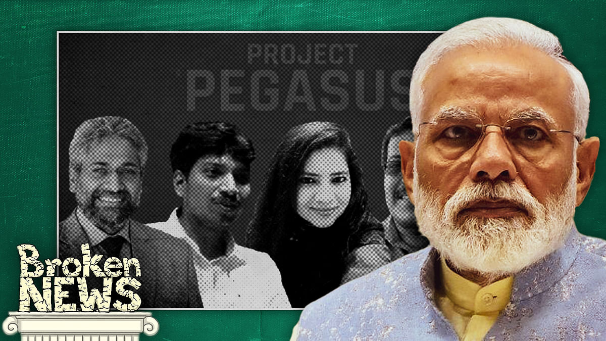 From denial to claims it 'maligns' India, the government's response to Pegasus is predictable