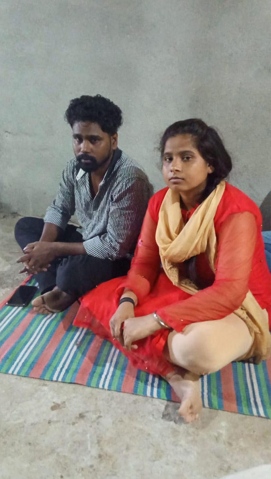 Santosh and Bharati.