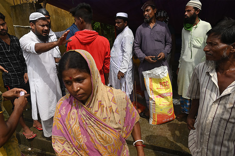 To distribute relief materials, organisations usually take the help of a local teacher or panchayat member to identify families that have lost the most. Through this local contact, families are given coupons and told to reach certain distribution points on certain dates to collect relief. Organisations can usually help only 300 families at a time, but the needs of the people are much greater.