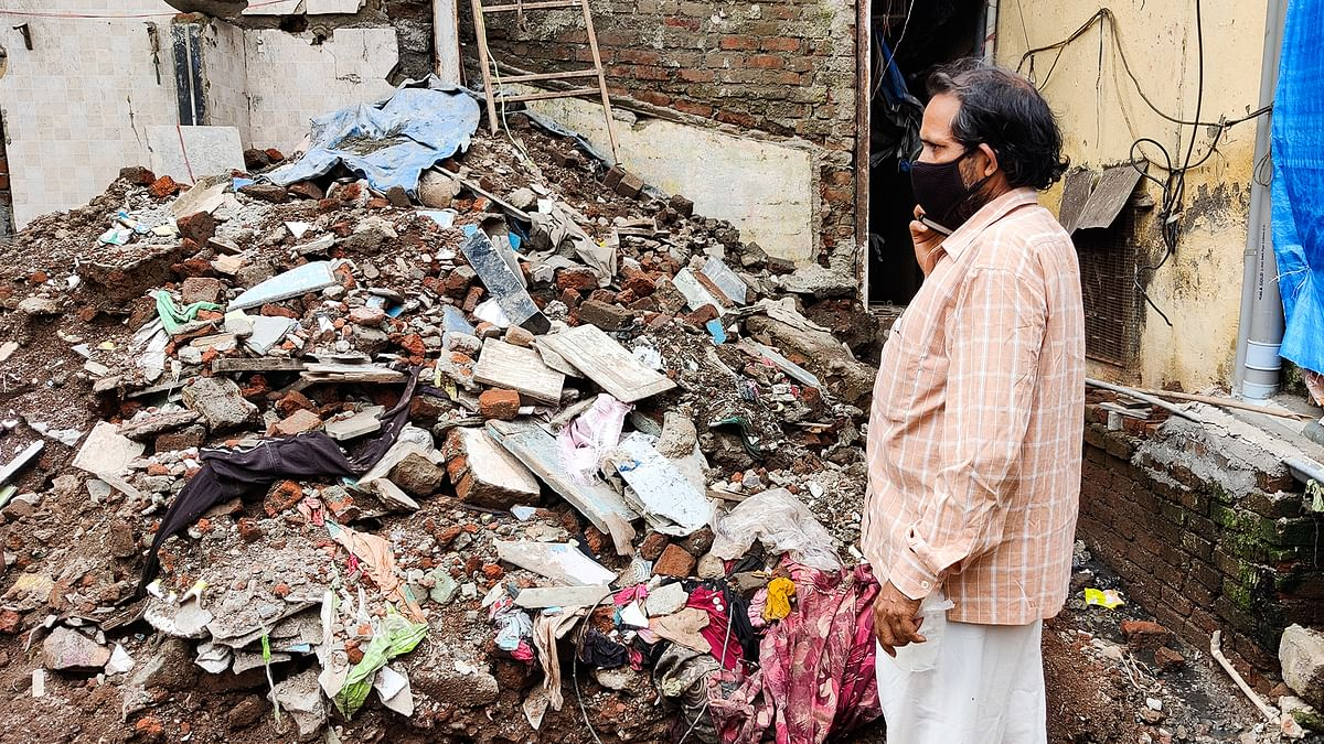 Why do so many Mumbai buildings collapse in the rains?