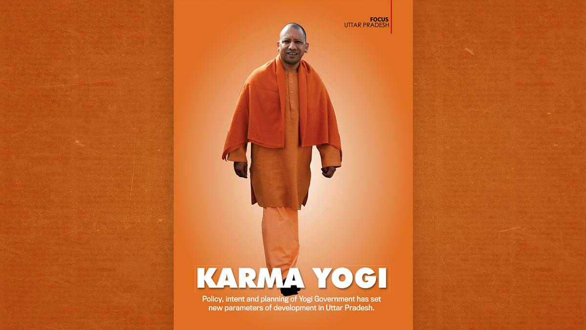 India Today's latest edition has a 24-page ad feature on Yogi government with no explicit disclaimer