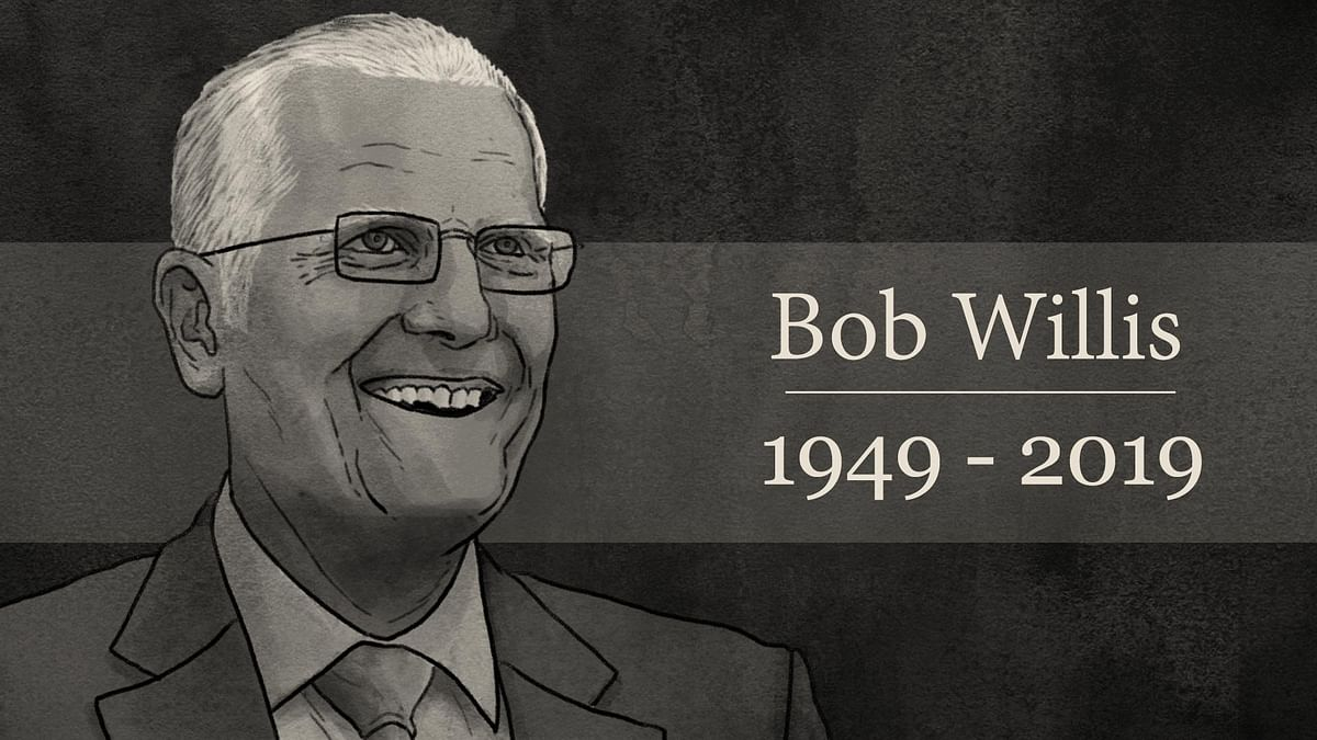 Bob Willis bowled his heart out. That's what made him legendary