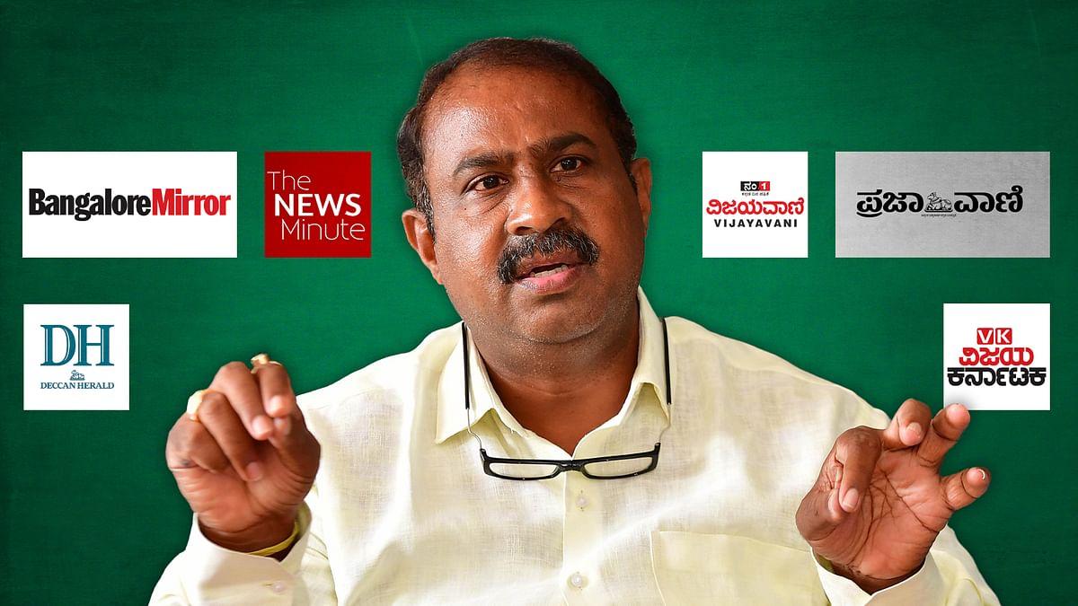 Don't report on BJP's Satish Reddy, Karnataka court tells media houses