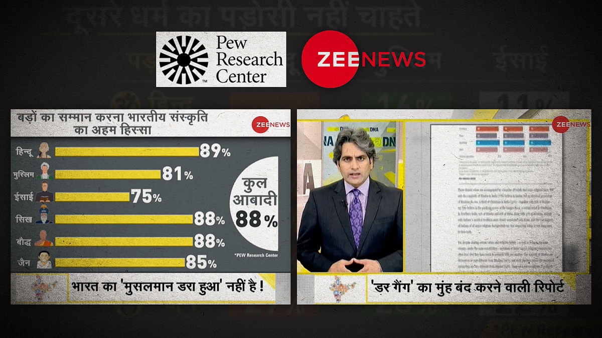 'India is heaven for Muslims': Why Zee News's coverage of the Pew survey is disingenuous