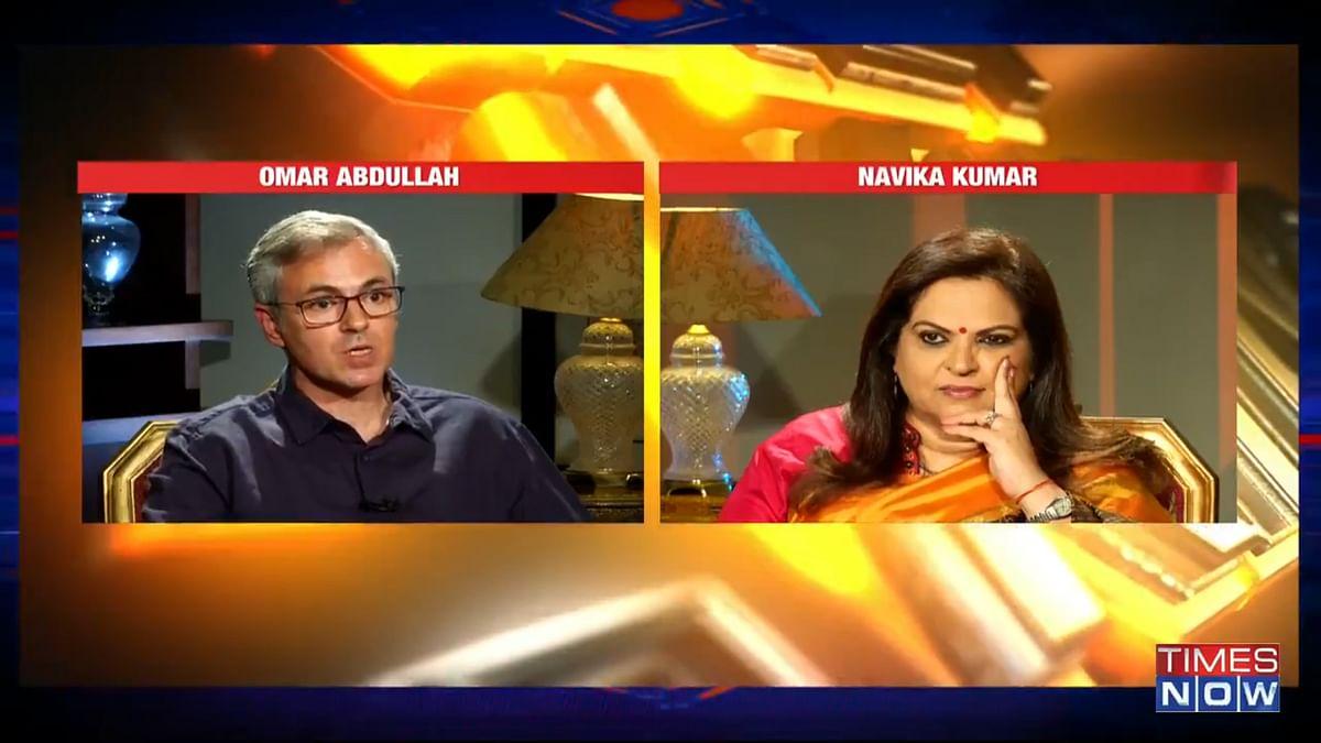 Frankly Speaking Omar Abdullah leaves Navika Kumar stumped