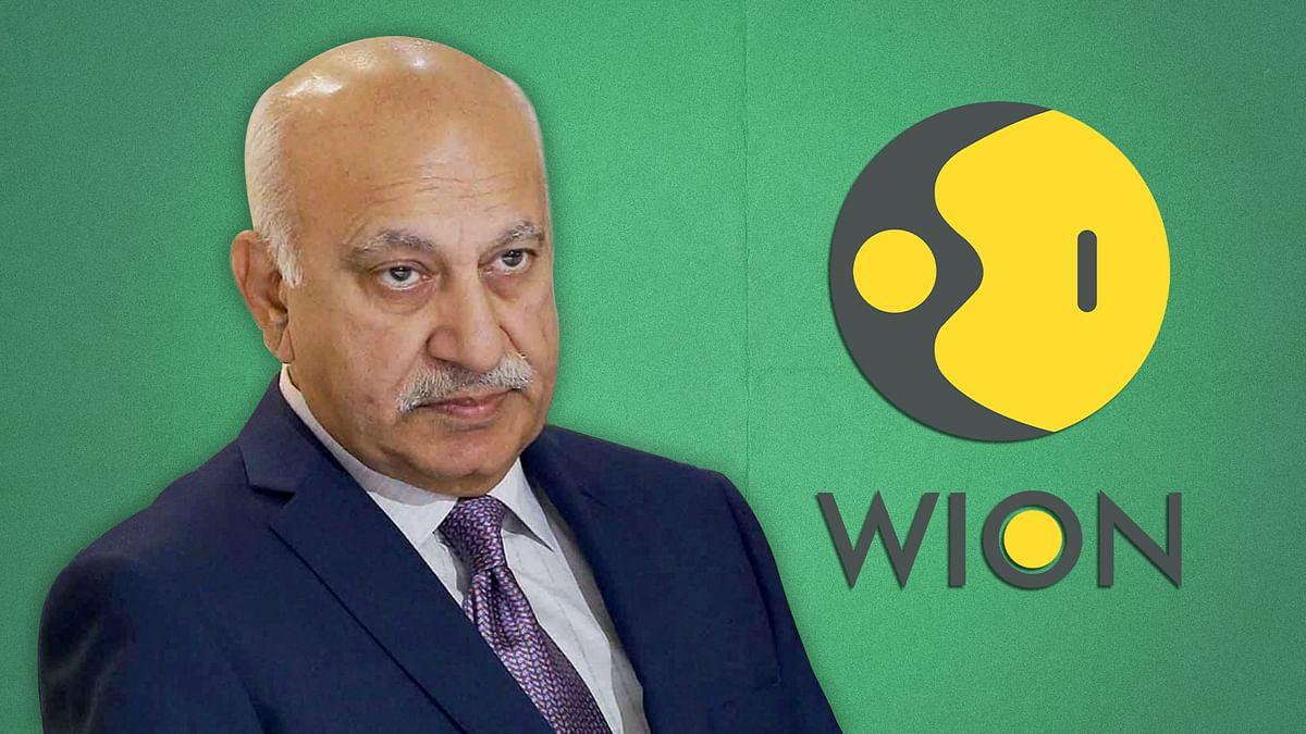 MJ Akbar returns to newsroom, courtesy Zee Media's WION