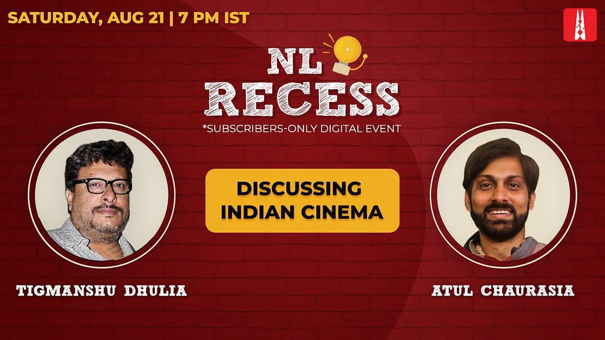 NL Recess: Come hang out with Tigmanshu Dhulia