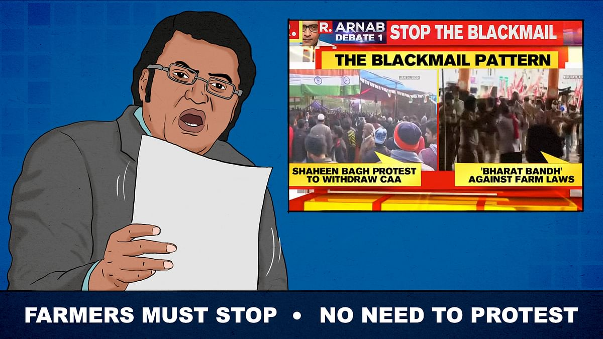 Conspiracy theories and sympathy for 'common man': News channels got the same memo on Bharat Bandh
