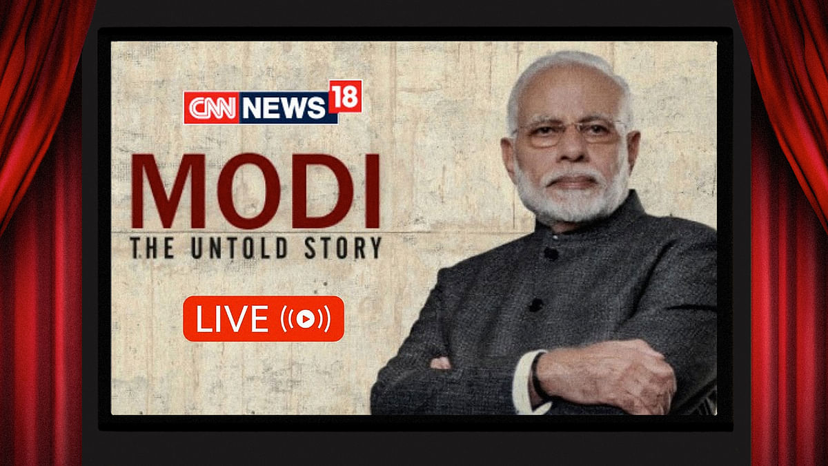 News18's birthday gift to Modi is a cinematic lickspittle