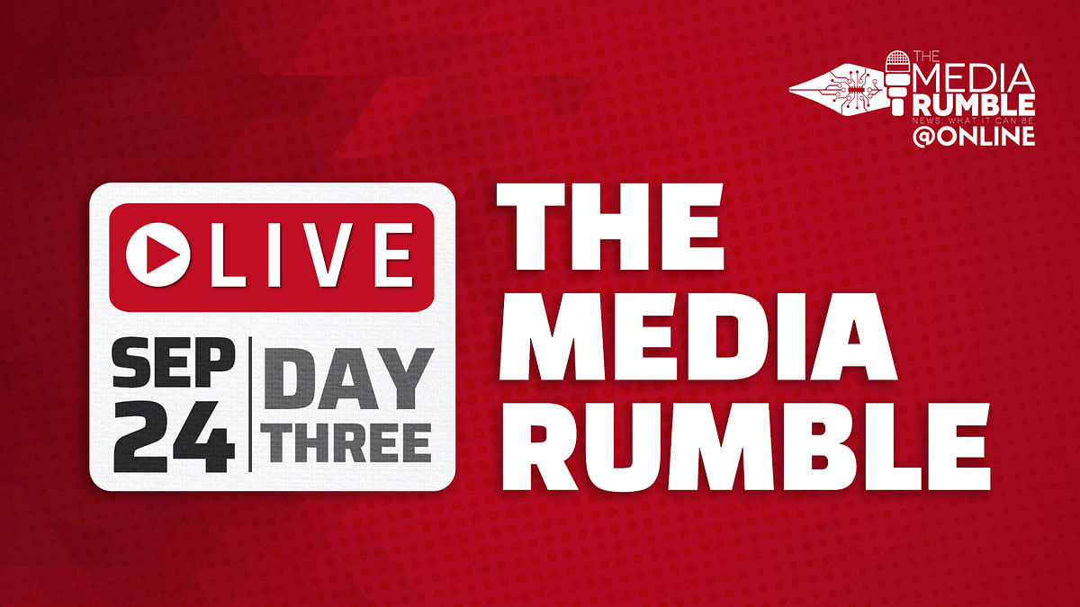Watch live: Day 3 of The Media Rumble 2021