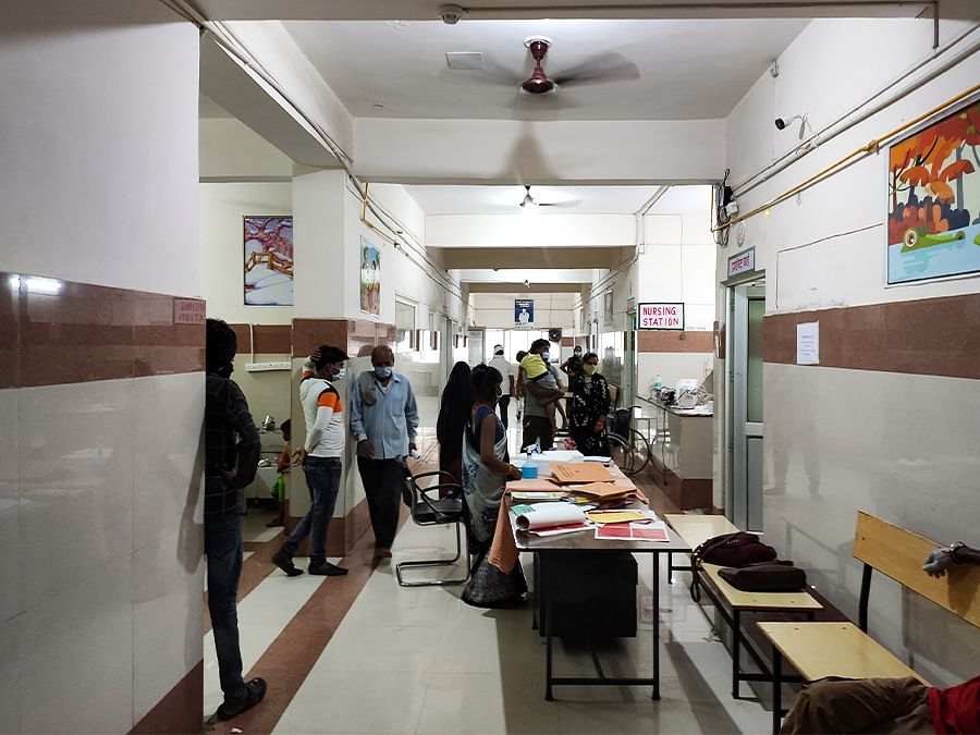 The Government Medical College in Firozabad.
