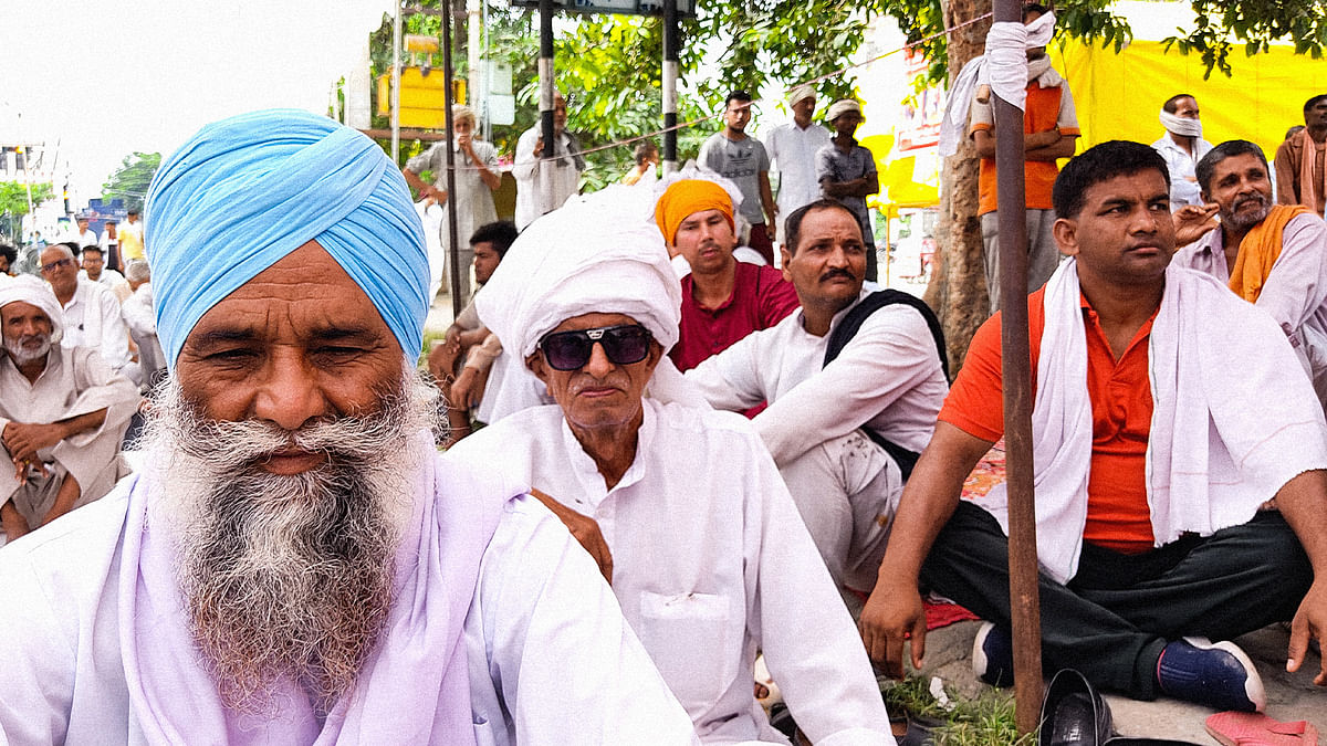 How the farmer protest in Karnal ended