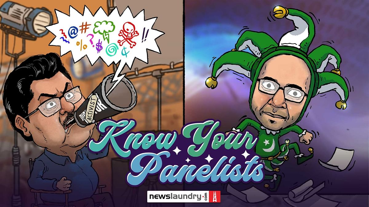 Know Your TV News Panelists: The useful clown and the Bollywood pundit