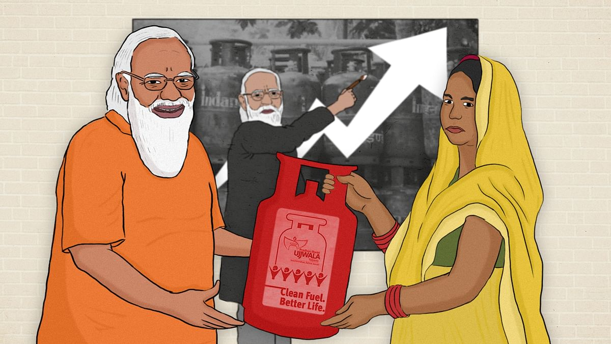 How Modi's own ministries are sabotaging the efforts of the Ujjwala scheme