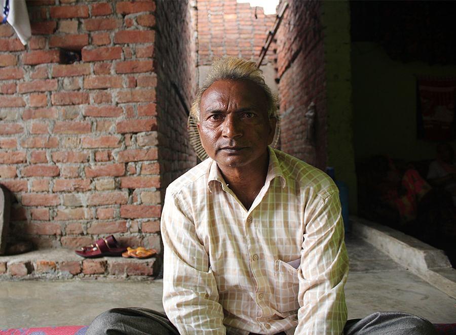 Birendra Singh Savita, a resident of Sudama Nagar in Firozabad.
