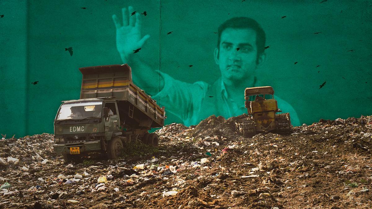 Garbage mountains of Delhi: Why Gautam Gambhir won't meet his 2024 deadline to get rid of it
