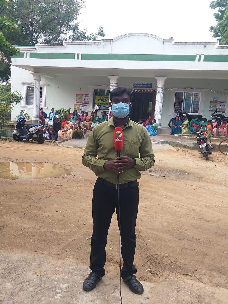 Puthiya Thalaimurai district reporter S Kumaravelu.
