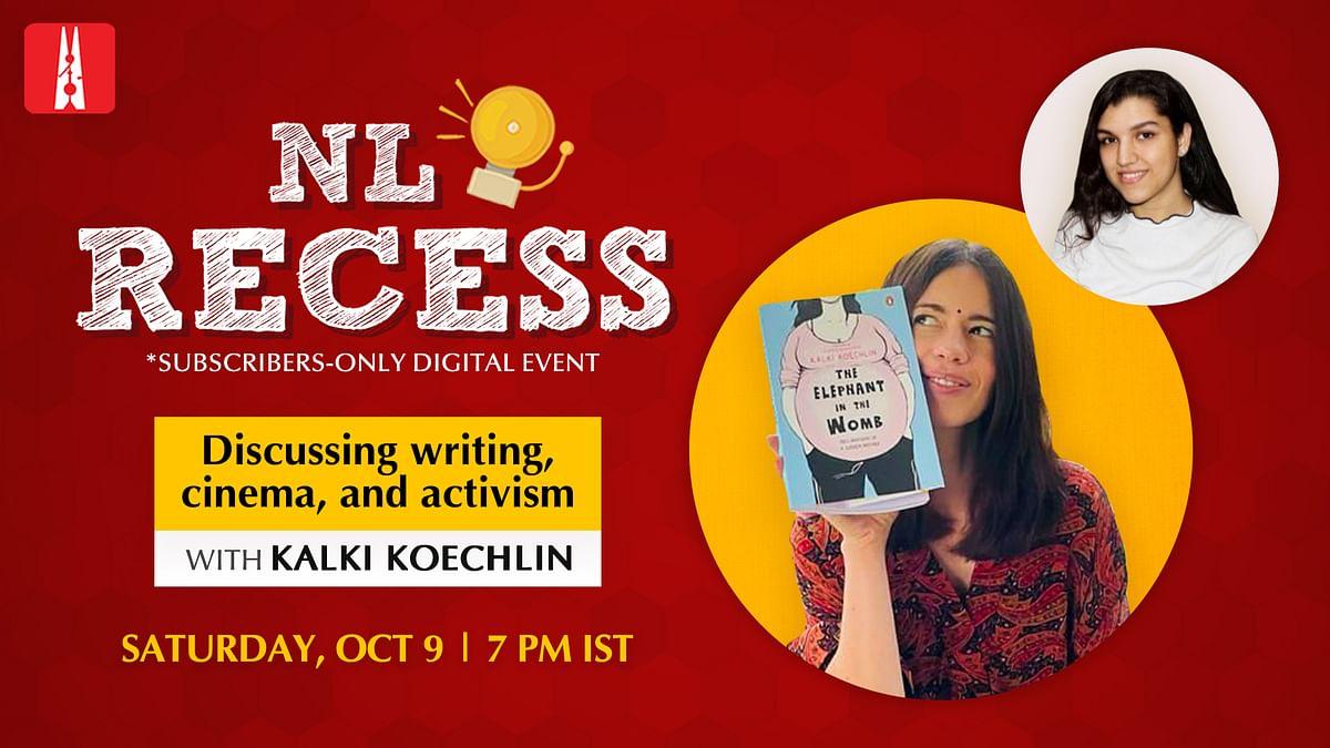 NL Recess: Come hang out with Kalki Koechlin