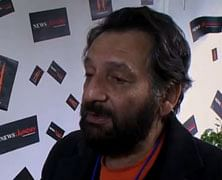 Shekhar Kapur on TV news